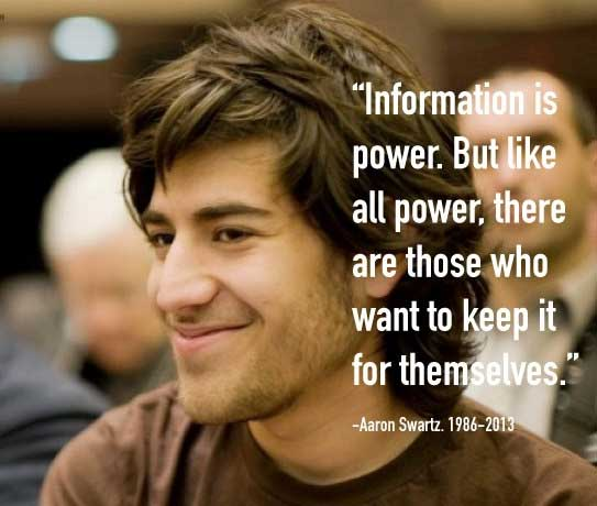 Profits over people: Aaron Swartz and the dominant model of our world