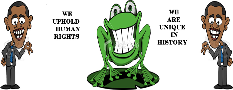 Obama Frog Obama